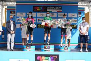 Francesca Barale nuova Campionessa italiana a cronometro Donne Juniores a Faenza, nella seconda prova dei Campionati Italiani di ciclismo su strada in Emilia-Romagna